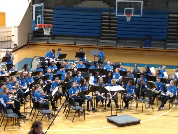 WLMS 7th Grade Band