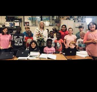2018-2019 ELE Teacher of the Year  Mrs. Melisa Smith