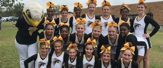 ELMS Cheerleaders get 3rd Place in the Vidalia Sweet Onion Classic!