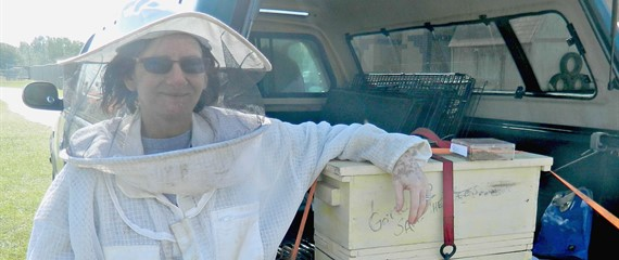 The Bee Keeper - Farm Day 2016