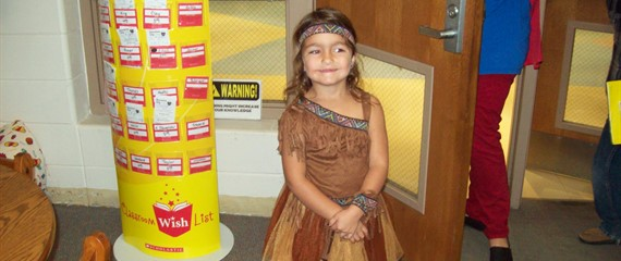 Book Character Day - Pocohontas!
