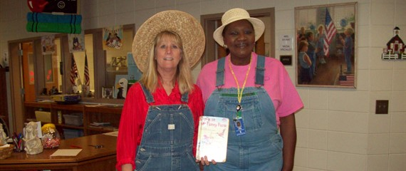 "Book Character Day - ""Down on the Funny Farm"""