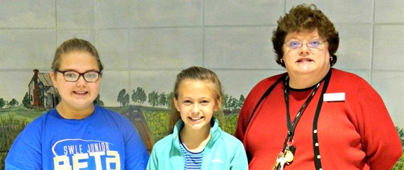 "These students were recently selected to represent SWLE at the district level for the FY17 Georgia National Fair Bear Writing Contest. We are proud to say that Lily won at the District level! (See folder under photos titled ""Writing Contest Winners"" for more detailed information and names."
