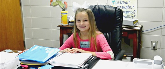 Principal of the Day!