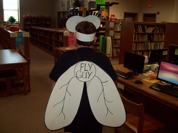 Book Character Day - Fluy Guy (Back Side)