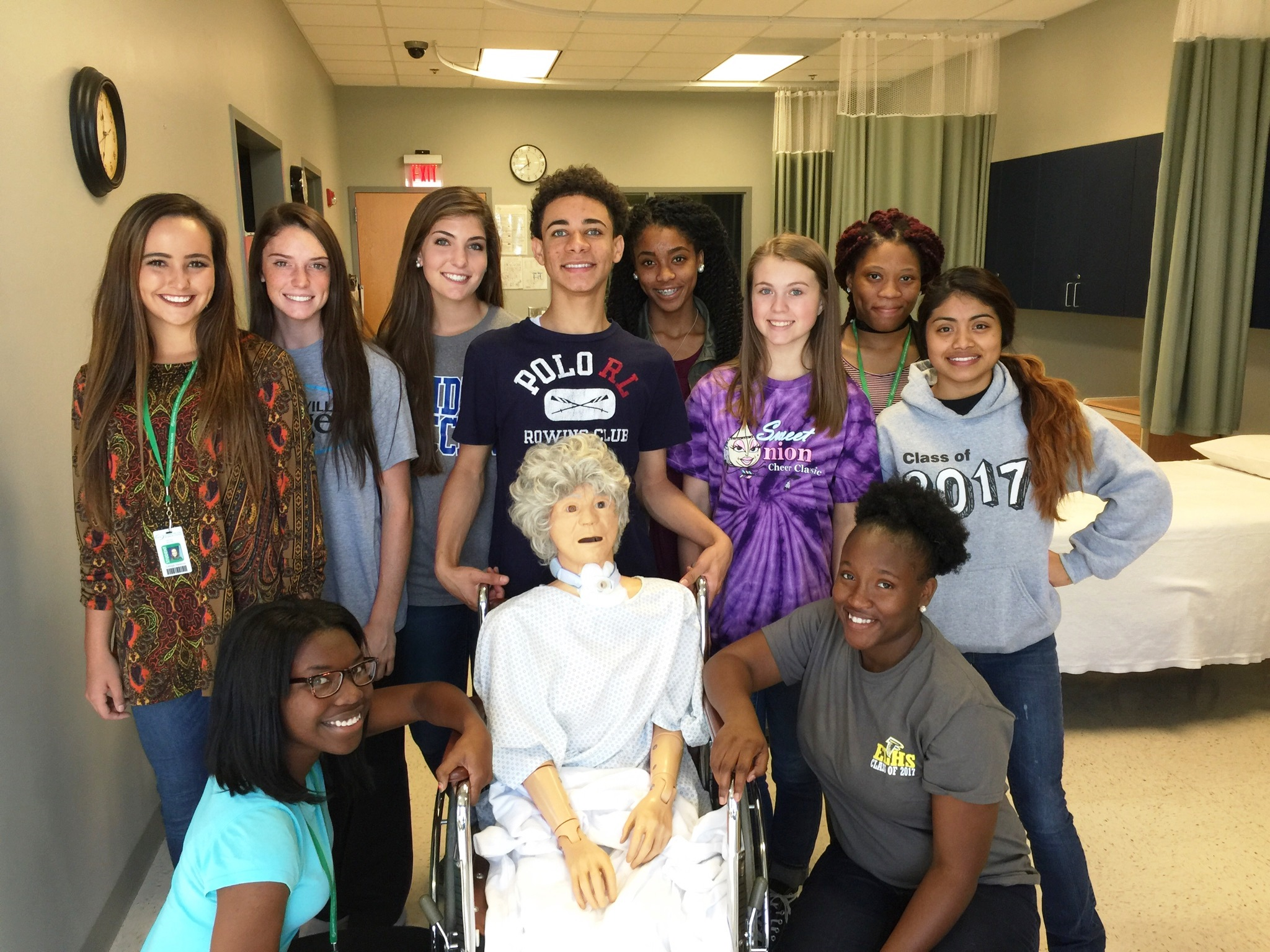 WLH students in the Nurse Aide program at OFTC.